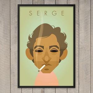 "Plakat ""Serge"", 29,7x42 cm"