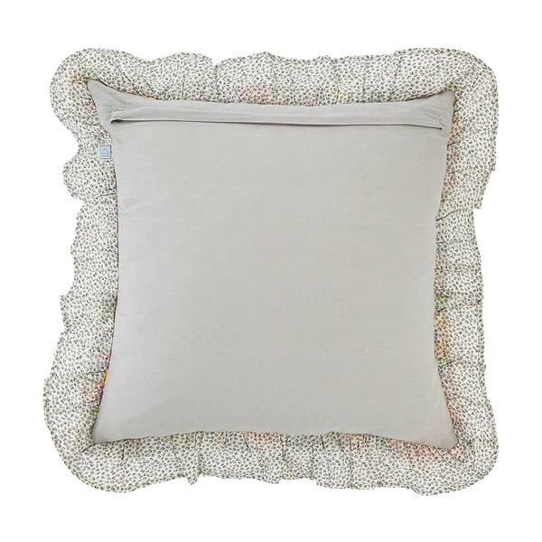 Poduszka z wypełnieniem Alain Ivory, 45x45 cm