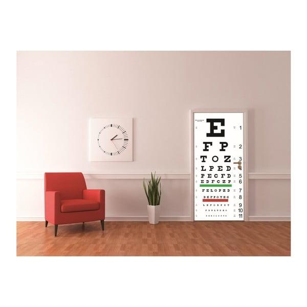 Tapeta   na drzwi Eyechart