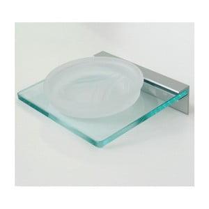 Uchwyt na mydło Christal Soap, 15x5,8x14 cm