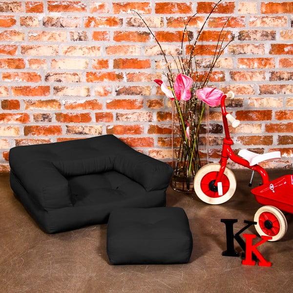 Fotel dziecięcy Karup Baby Cube Black