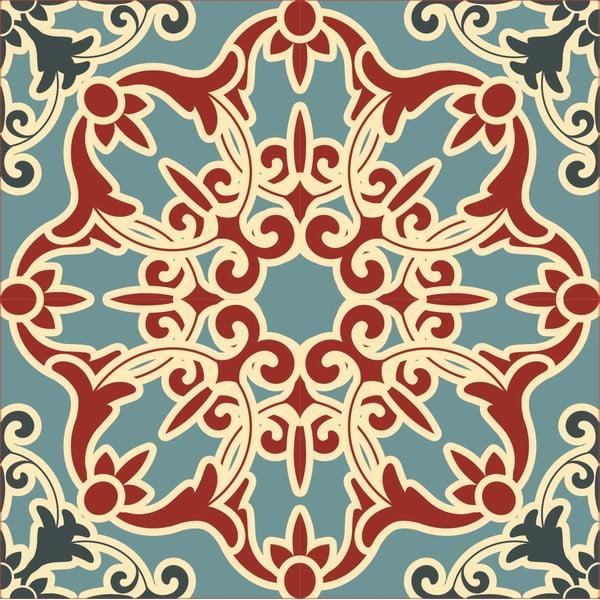 Naklejki Tile Art Rurqouise Ornament, 4 szt.