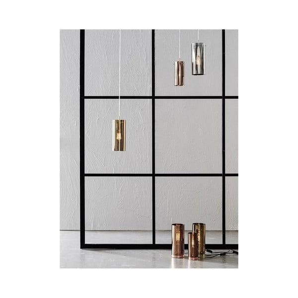 Lampa stołowa w kolorze złota Markslöjd Storm, ⌀ 9 cm