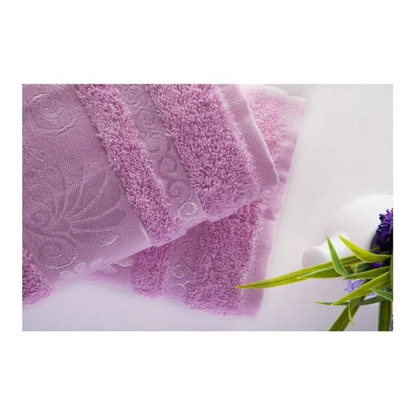 Zestaw 2 ręczników Carmen Pink, 50x90 cm