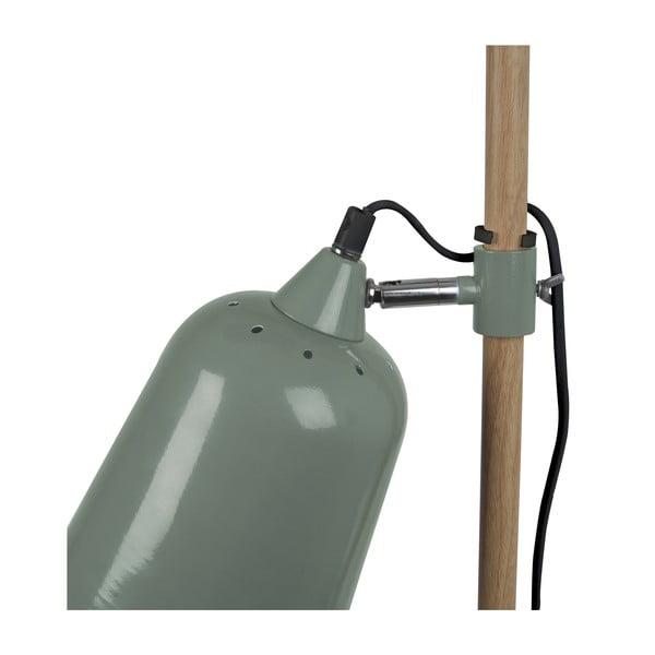 Zielona lampa stojąca ETH Wood