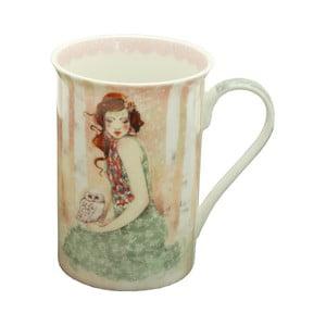 Kubek porcelanowy Santoro London Willow Mademoiselle Snow
