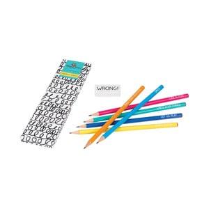 Zestaw 6 ołówków Happy Jackson
