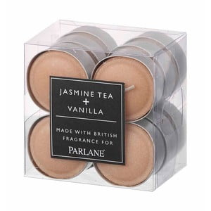 Świeczki tealight Jasmine&Vanilla, 12 szt.