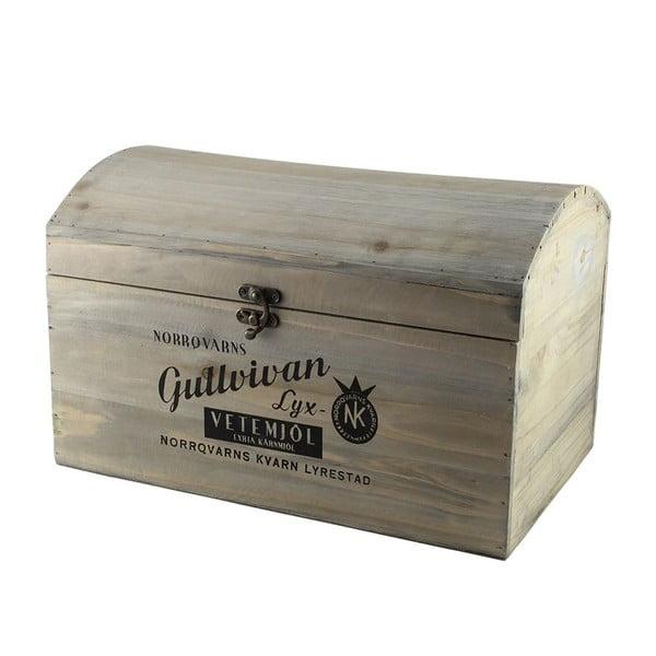 Komplet 3 drewnianych pudełek Gullvivan