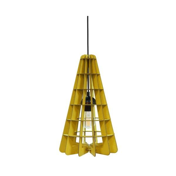 Lampa Conic, żółta