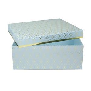Niebieskie pudełko Tri-Coastal Design Stockholm