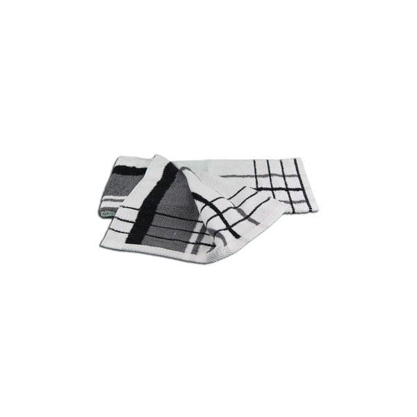 Ręcznik Berlin Antracite/Black, 50x100 cm