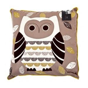 Poduszka Owl, 43x43 cm