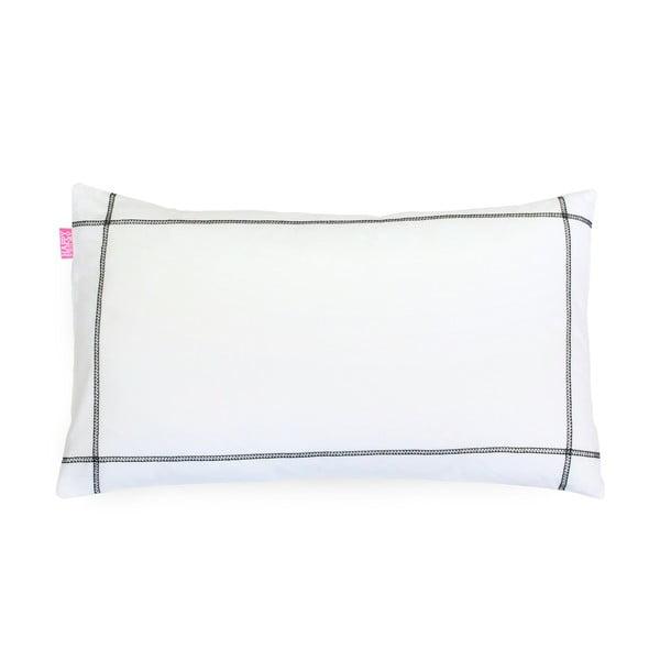 Poszewka na poduszkę Basic Black, 50 x 30 cm