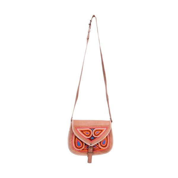 Skórzana torebka Bolso Rosa