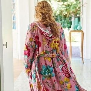 Szlafrok Pip Studio Floral Fantasy, różowy, rozm. XS