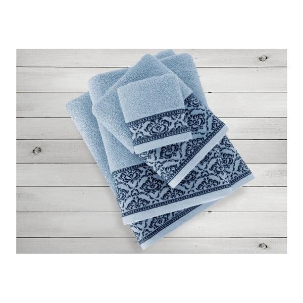 Niebieski ręcznik Irya Home Felice, 70x130 cm