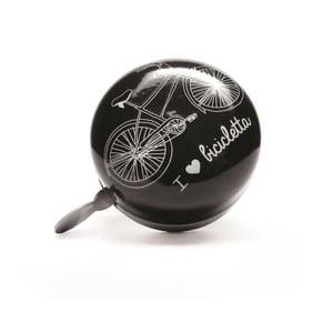 Dzwonek I ♥ Bicicleta, czarny