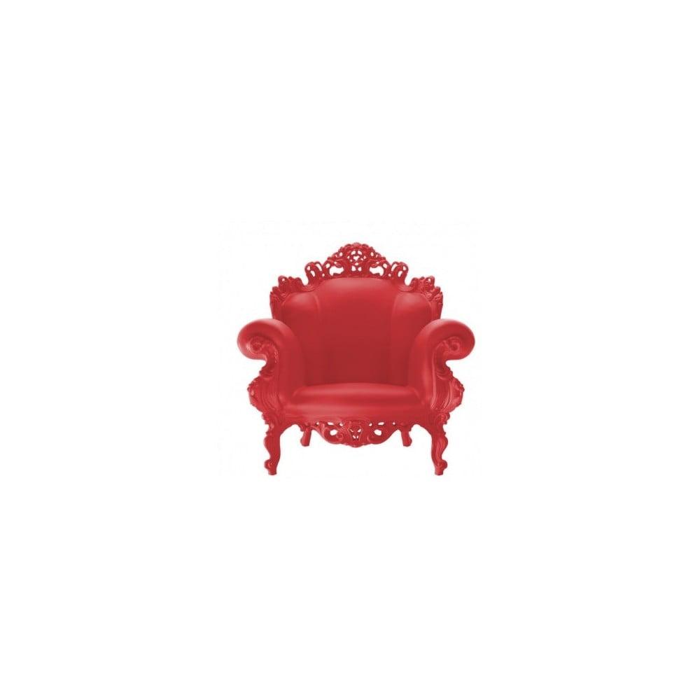 Czerwony fotel Magis Proust