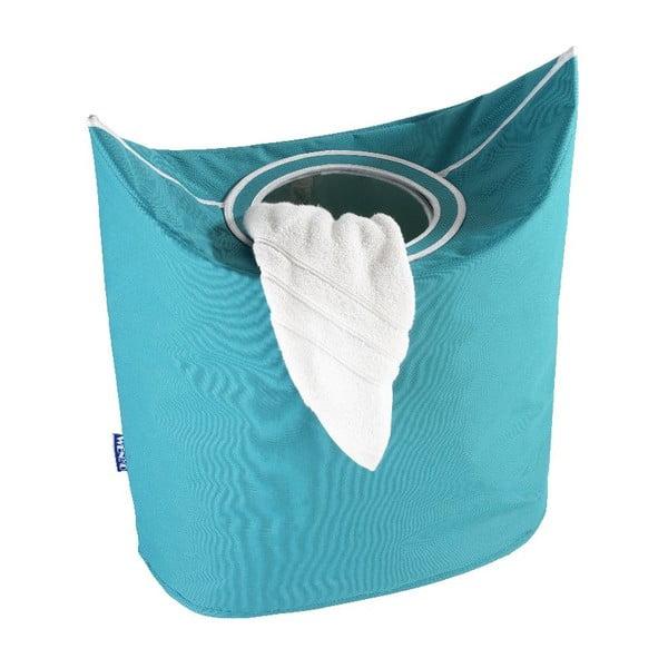 Niebieski kosz na pranie Wenko Donkey
