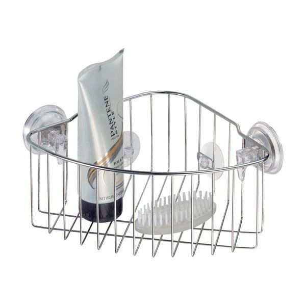 Koszyk metalowy z przyssawką Corner Baskets