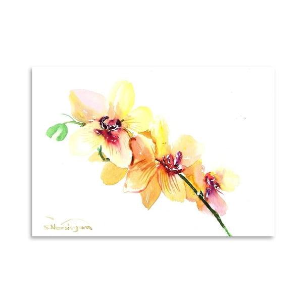 Plakat Peach Orchids (projekt Suren Nersisyan)