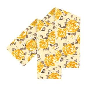 Zestaw 2 żółtych ścierek Ragged Rose Tracy