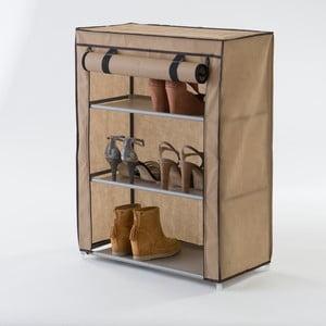Materiałowa szafka trzypiętrowa na buty Compactor Shoes