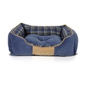 Legowisko dla psa Highland Box Bed M 60x50 cm, niebieskie
