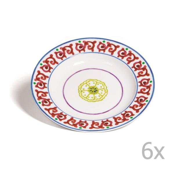 Zestaw 6 głębokich talerzy Toscana Pienza, 22.5 cm