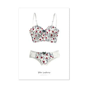 Plakat Leo La Douce The Ladies Lingerie I, 21x29,7 cm