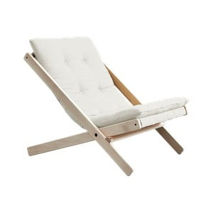 Fotel składany Karup Design Boogie Raw/Natural