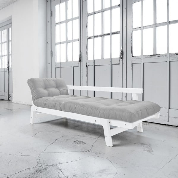Sofa rozkładana Karup Step White/Light Grey