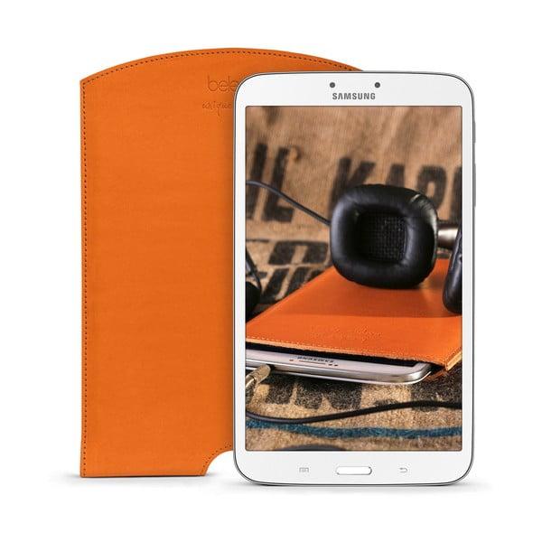 Skórzane etui na tablet Samsung Galaxy 8.0 (Tab 3, 4) Cognac