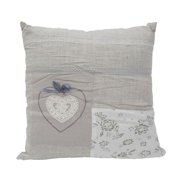 Poduszka Grey Love, 40x40 cm