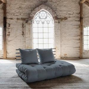 Sofa rozkładana Karup Shin Sano Black/Gris