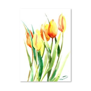 Plakat Tulips (projekt Suren Nersisyan)