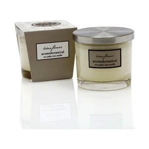 Świeczka z wosku palmowego o zapachu wanilii Aromabotanical Glass, czas palenia16h