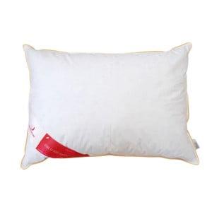 Biała poduszka z gęsim puchem Feeling Green Future, 50x70cm