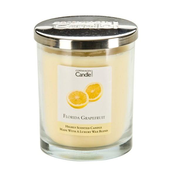 Świeczka o zapachu grejpfrutu Copenhagen Candles, czas palenia 40 godz.