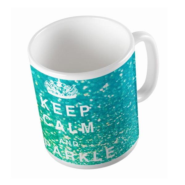 Ceramiczny kubek Keep Calm, 330 ml