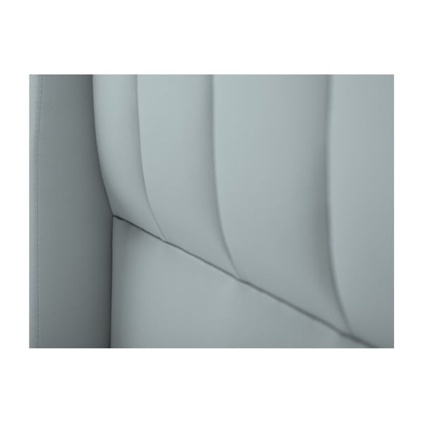 Zagłówek łóżka w kolorze srebrnym Cosmopolitan design Dallas, 180x120 cm