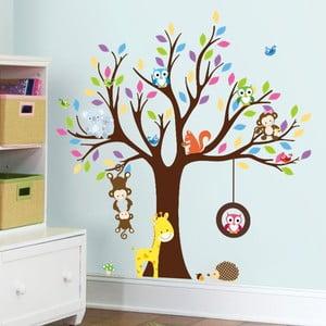 Zestaw naklejek Ambiance Tree with Animals