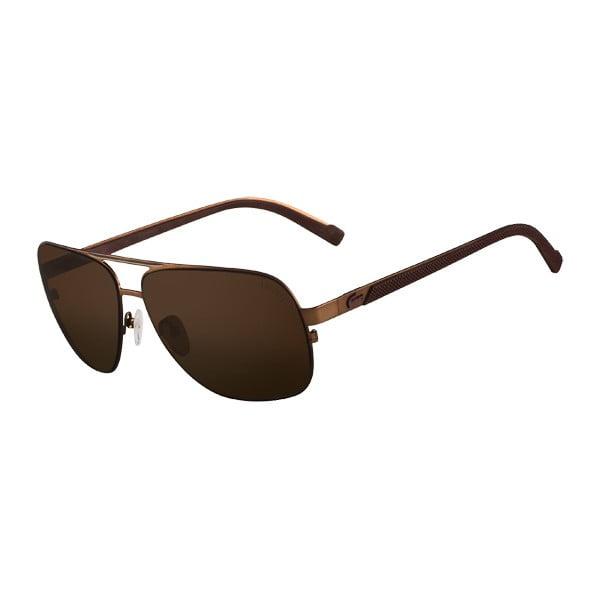 Męskie okulary przeciwsłoneczne Lacoste L141 Brown