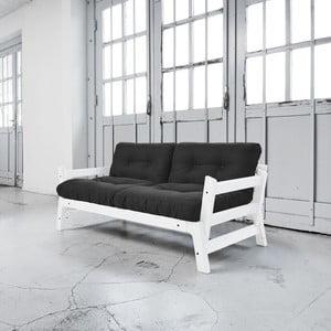 Sofa rozkładana Karup Step White/Dark