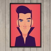 "Plakat ""The King of Rock'n'Roll"", 29,7x42 cm"