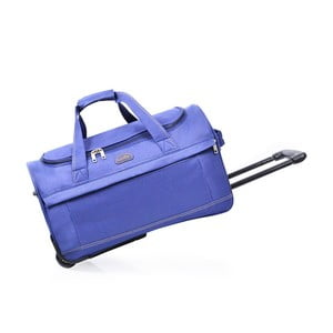 Niebieska torba podróżna na kółkach Hero,43l