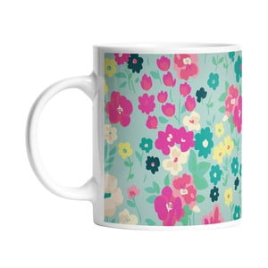 Kubek ceramiczny Nice Flowers, 330 ml
