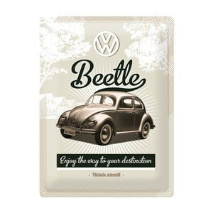 Blaszana tablica Beetle, 30x40 cm