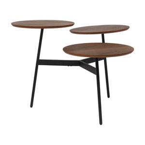 Stolik z 3 zdejmowanymi blatami Kare Design Bonsai